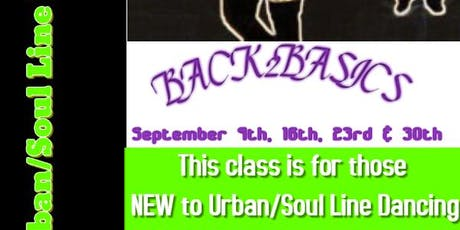 Brockton Urban Line Dancers ~ Back2Basics Class for Beginners tickets
