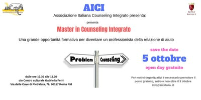 OPEN DAY MASTER IN COUNSELING