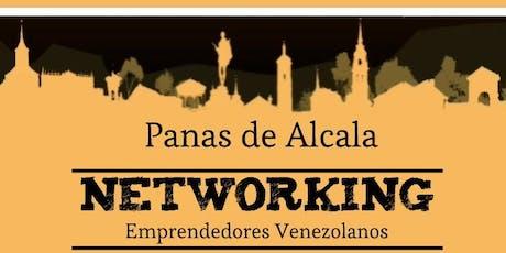 Venezolanos Emprendedores - Speed Networking by Panas de Alcala entradas