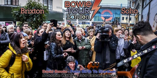 David Bowie - From Birth To Stardom : A Double Walking Tour Extravaganza!