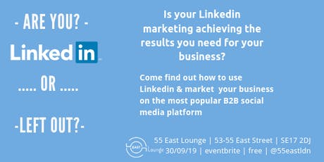 It's Your Business.1 - LinkedIn Workshop tickets