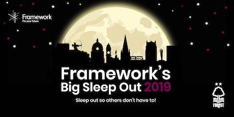 Framework's Big Sleep Out 2019 tickets