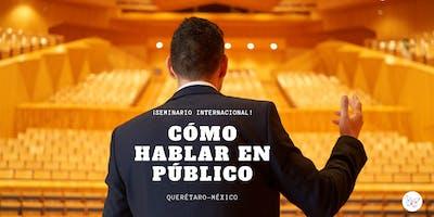 """CURSO """"CÓMO HABLAR EN PÚBLICO"""" EN QUERÉTARO (MÉXICO)"""