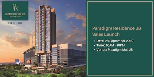 Paradigm Residence JB Sales Launch