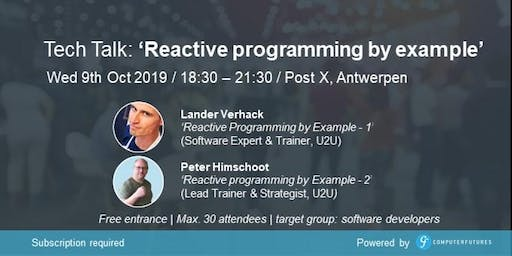 Reactive Programming By Example