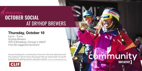 IL SheJumps October Social at DryHop Brewers tickets