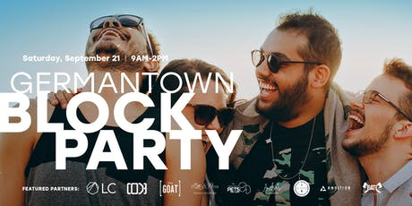 2019 Germantown Block Party tickets