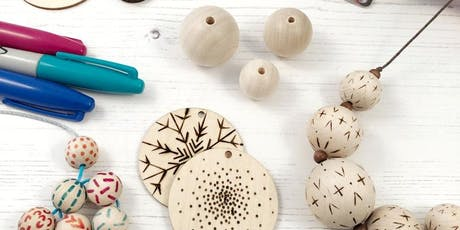 Pyrography Decorative Beads Workshops  tickets
