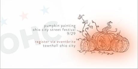 2019 Ohio City Street Festival Pumpkin  Painting tickets