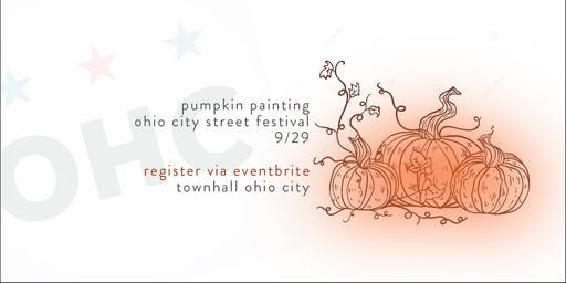 2019 Ohio City Street Festival Pumpkin  Painting