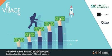 CONVEGNO | Startup & PMI Financing biglietti