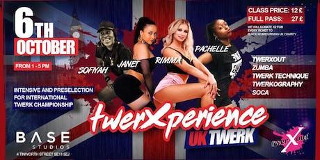 TwerXperience tickets