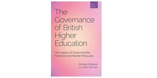 Book launch special event: The Governance of British Higher Education