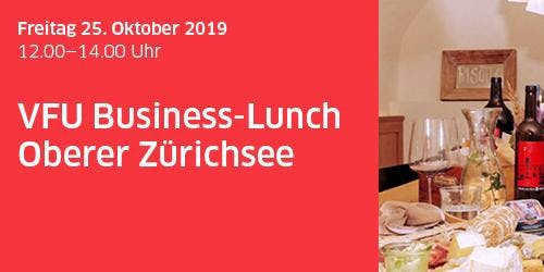 VFU Business-Lunch Oberer Zürichsee