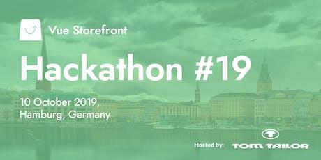 Vue Storefront Hackathon #19 @ Hamburg, Germany tickets