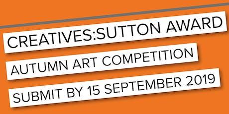 CREATIVES:SUTTON AWARD Prize Evening tickets