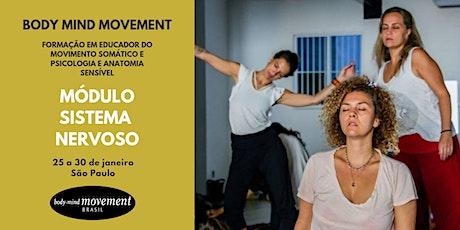Módulo Sistema Nervoso - Body Mind Movement São Paulo ingressos