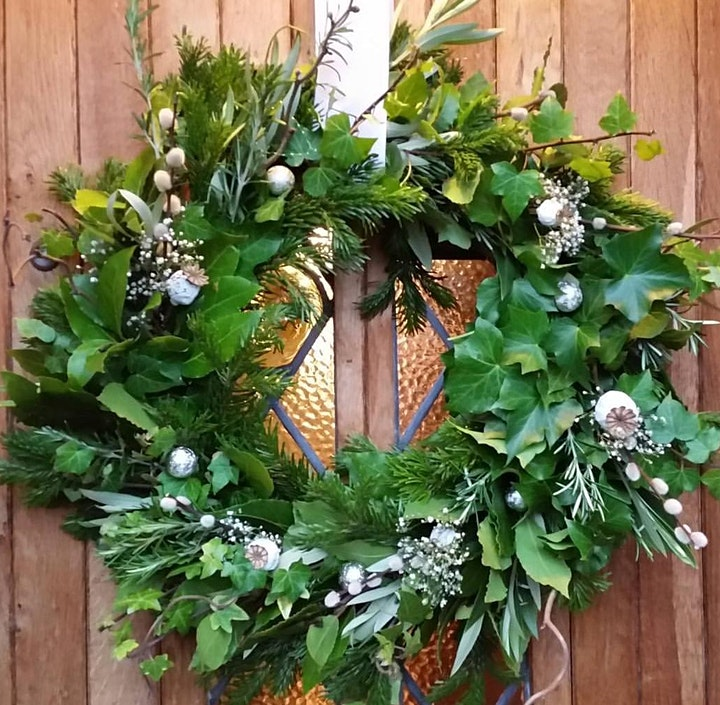 Gardening Lady Christmas Wreath Making Workshop 1 image