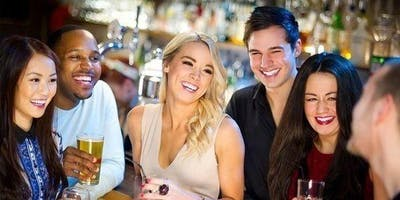 Make new friends with like-minded ladies & gents! (25-45) (FREE Drink) BRU