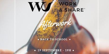Afterwork // Come Back To Work & Share billets