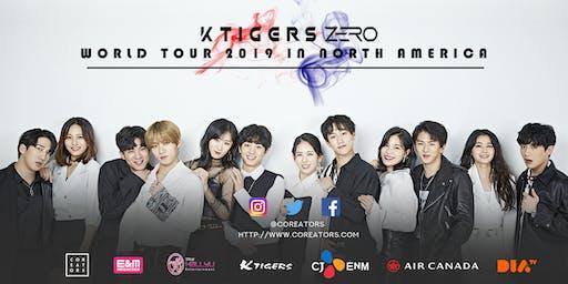 K-TIGERS ZERO World Tour in North America