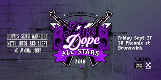 FRee DoPe All Stars ~ Free DNB Warehouse Party ~ Grand Final Day