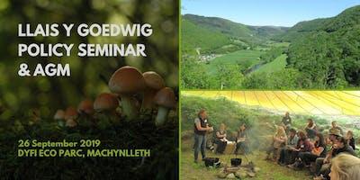 Llais y Goedwig Woodland Policy Seminar and AGM