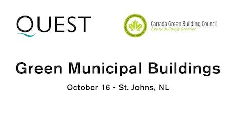 Green Municipal Buildings Workshop (Newleef Companion) tickets