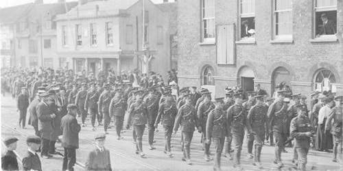 WWI Remembered in Poole
