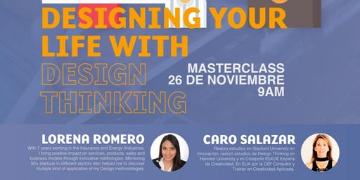Master Class Designing your Life with Design Thinking