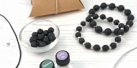 Aromatherapy Jewellery with Bamboo (Yoga – Oils – Life) tickets