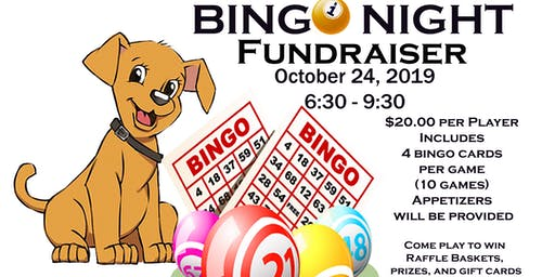 Bingo Night Fundraiser Fall 2019