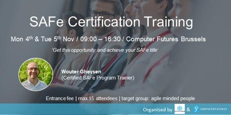 SAFE Certification Training tickets