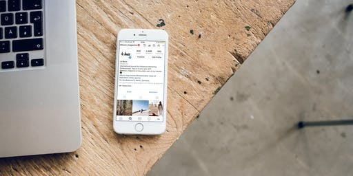 Maîtriser Instagram du bout du pouce - 1 journée / 2 dates au choix