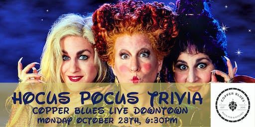 Hocus Pocus Trivia at Copper Blues Rock Pub and Kitchen