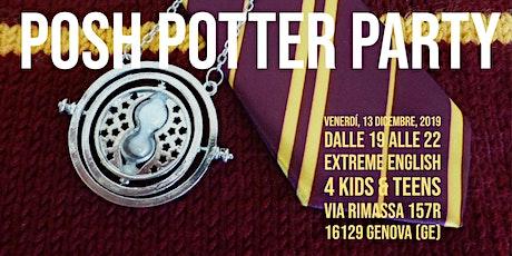 Posh Potter Party biglietti
