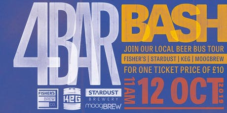 4 Bar Bash tickets