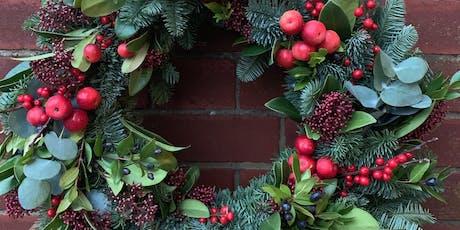 Blend & Bloom Christmas Wreath Workshop tickets
