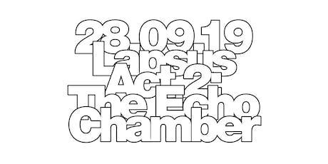 Lapsus 2019 - ACT 2 (LAUT): Oscillate Tracks w/ Johanna Knutsson & Karima F tickets