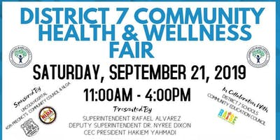 @CSD7bx Wellness Fair