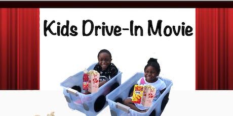 Kids Drive-In Movie tickets