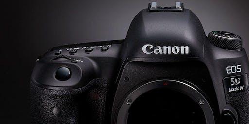 Brukerkurs Canon EOS 5D Mark IV