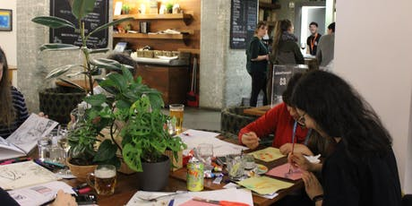 Drink & Draw at The Tetley tickets