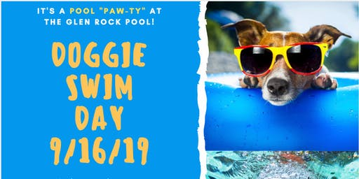 Glen Rock Doggy Swim Day (for Large Dogs)