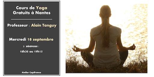 Cours de Yoga gratuits à Nantes