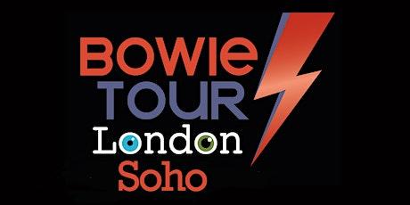 Soho's Original David Bowie Musical Walking Tour tickets