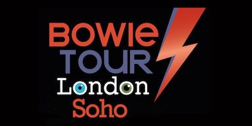 Soho's Original David Bowie Musical Walking Tour
