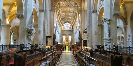 Oxford Diocese Chaplains Conference: Finding stability in a world of change