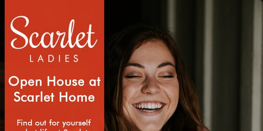 Open House at Scarlet Home