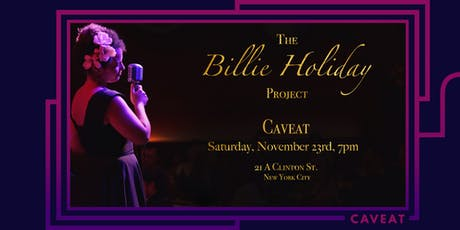 Billie Holiday Project tickets